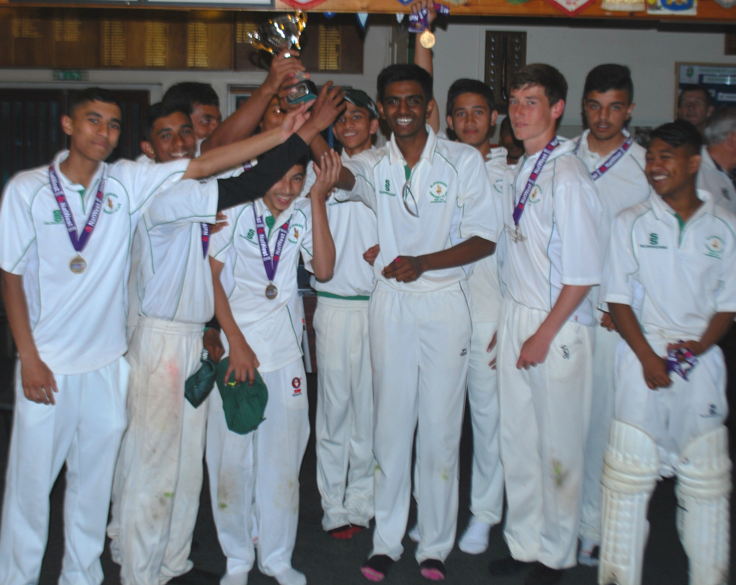 U15 Winners 2014