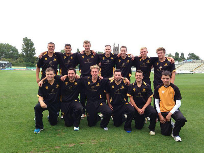 Winning Ombersley CC side