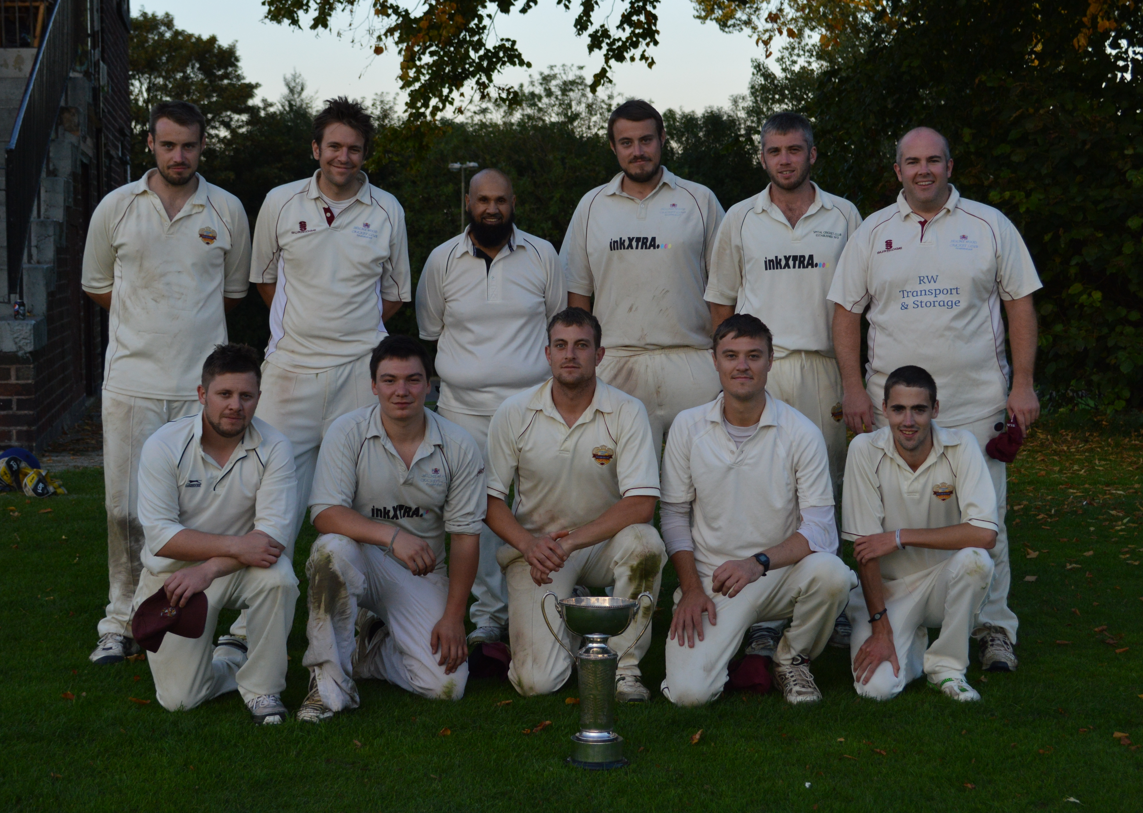 DCCL - Division 4 N Winners 2014
