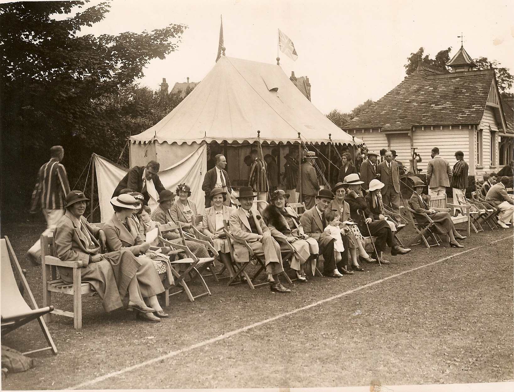 cricket week 1936