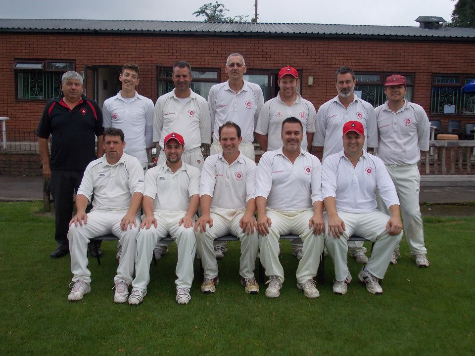 Ben, top row second left part of the team that finished runners-up in the Bateman Trophy final 2012