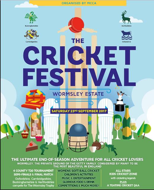 2017 cricket festival