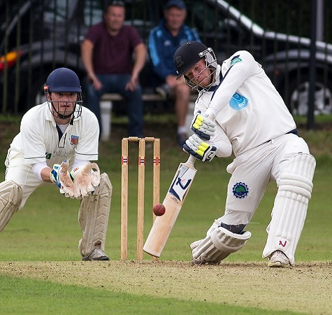 Ed Brown scores 269