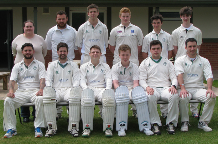Martinstown XI team May 2017 photo by Stuart Broom