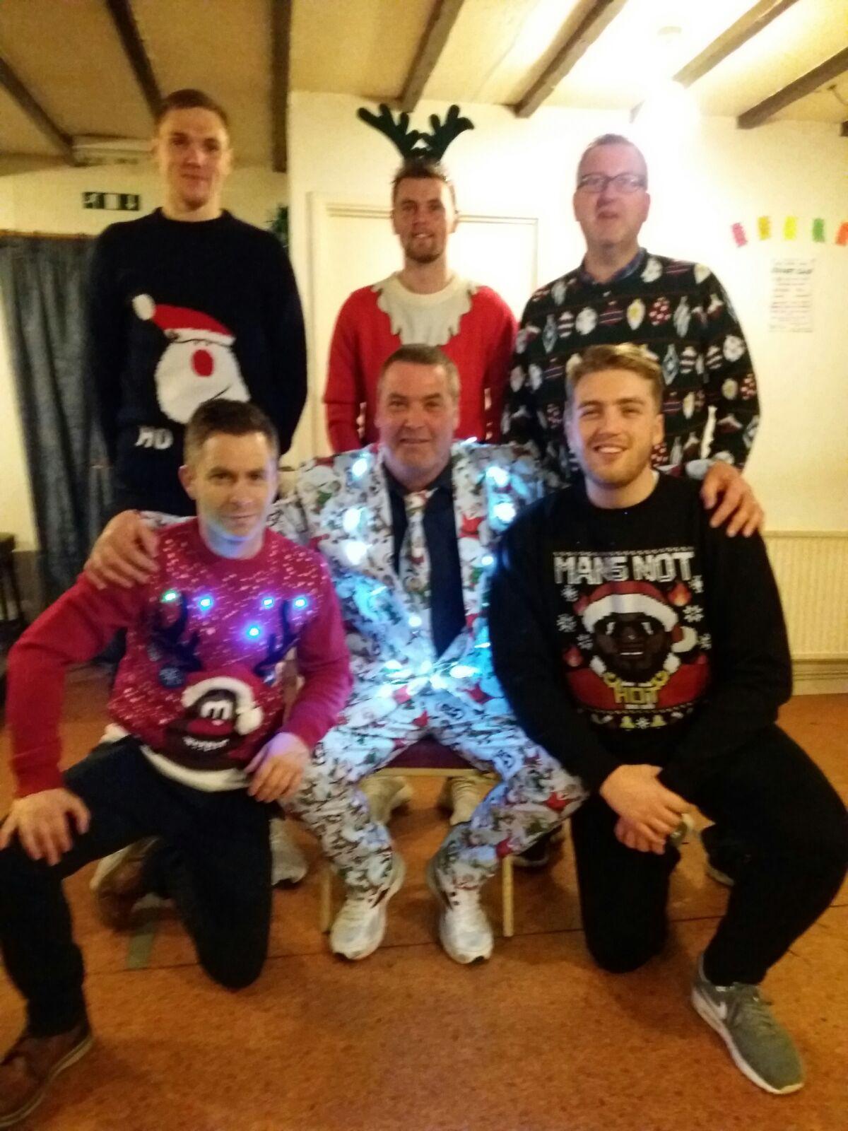 Earl Shilton Town CC Christmas Group 2017