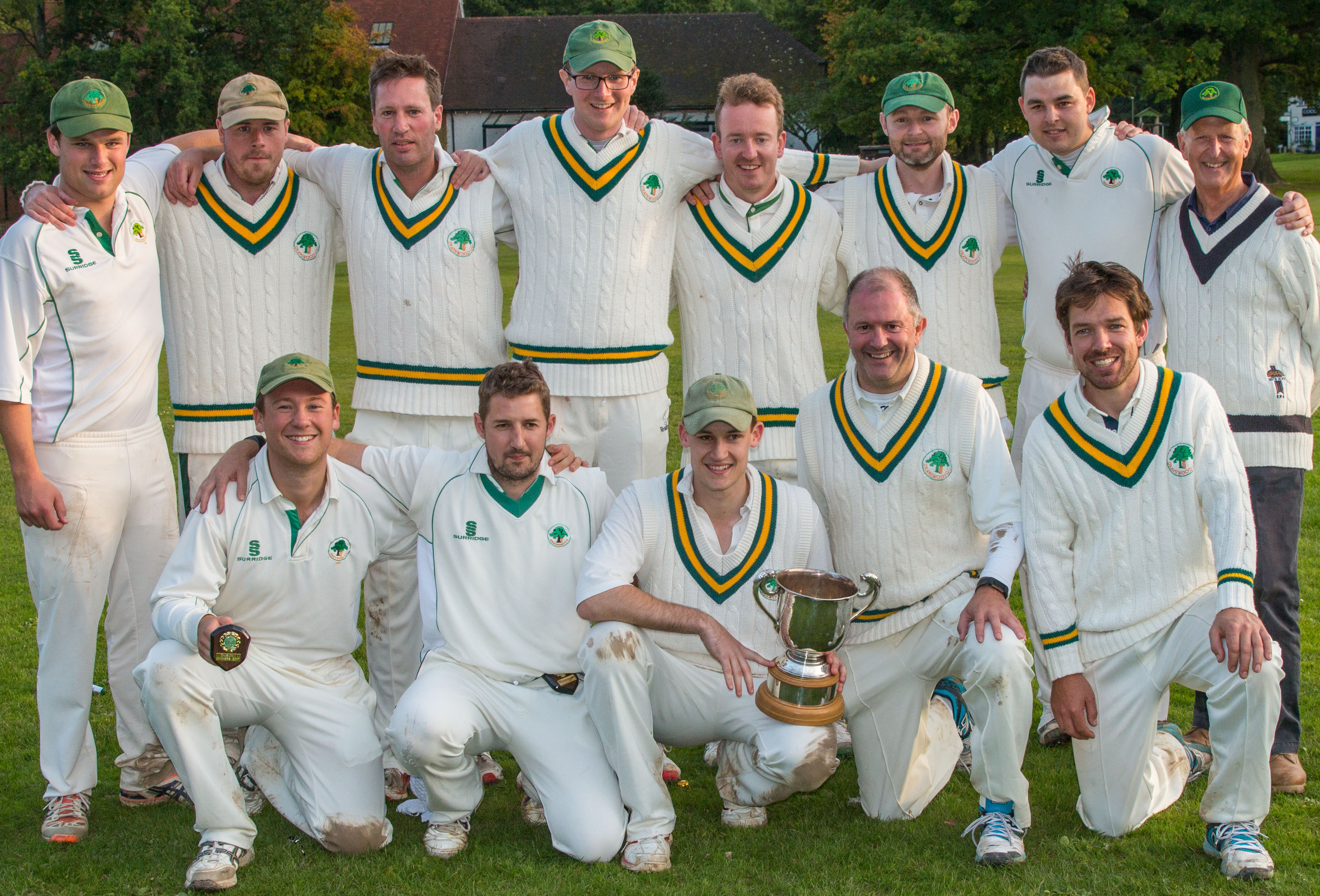 2nd XI is 2016 I'Anson Division IV Champions