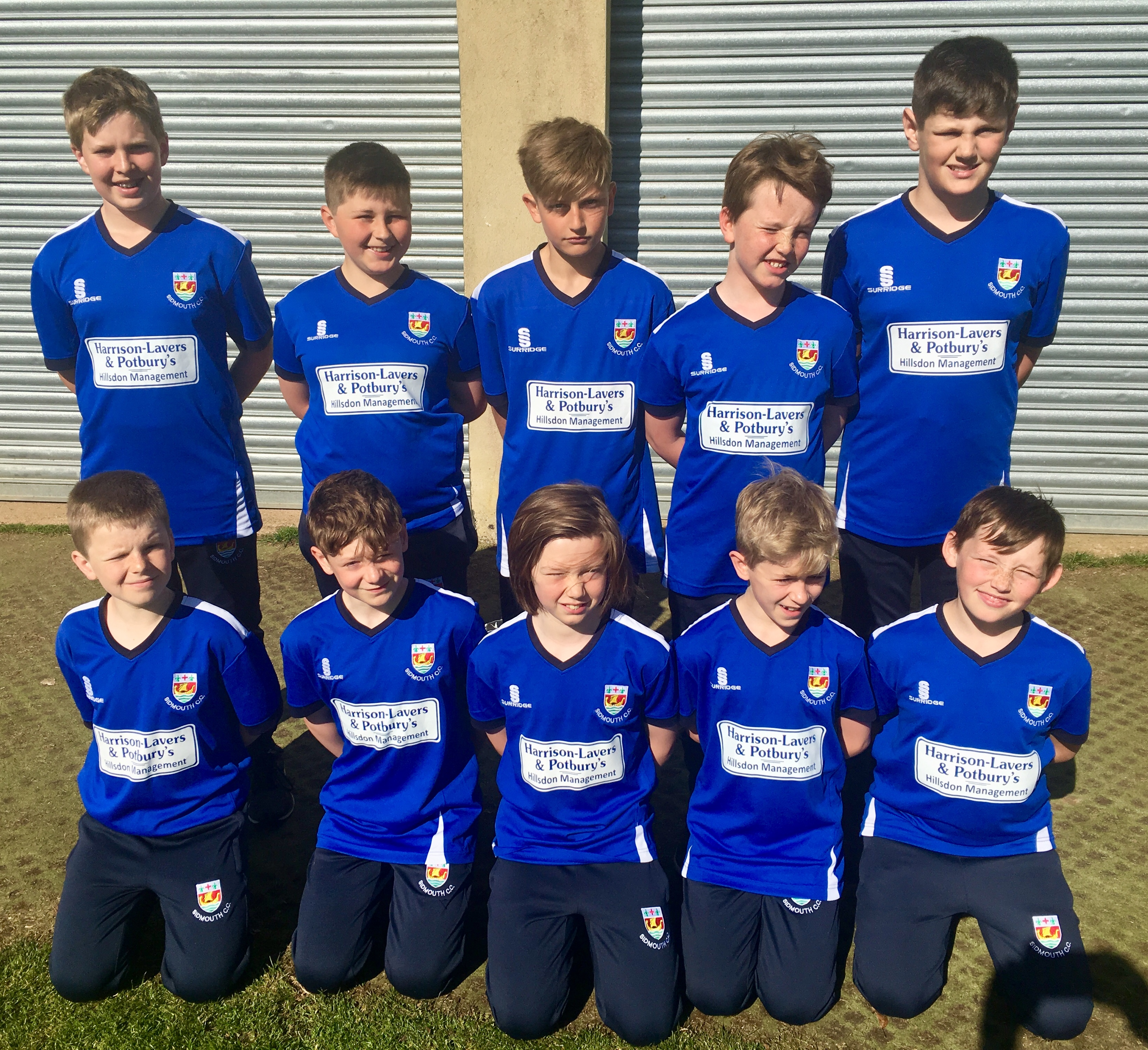 Sidmouth under 11s 2018