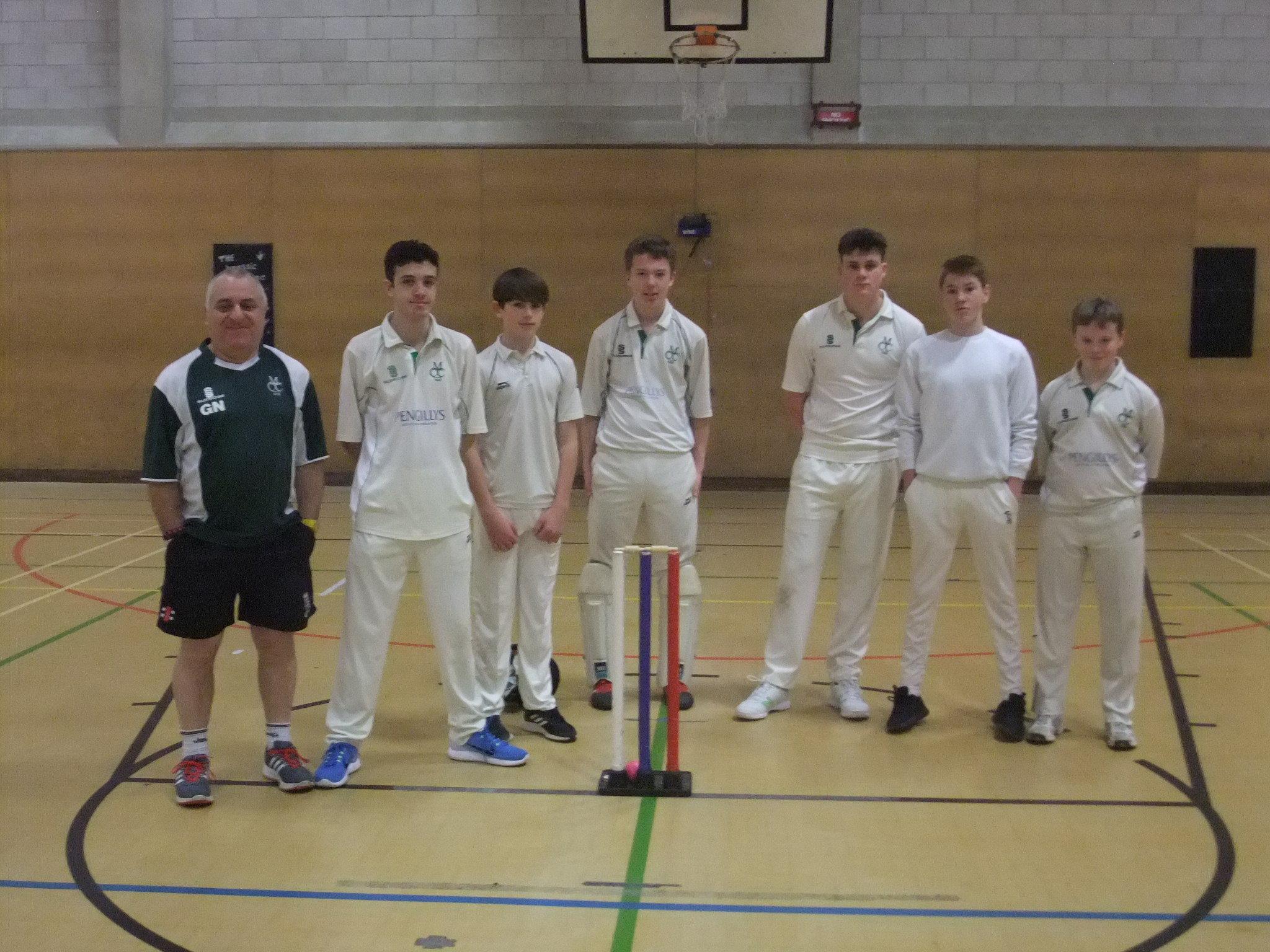 Martinstown U16s West Dorset indoor League & Cup winners 2018