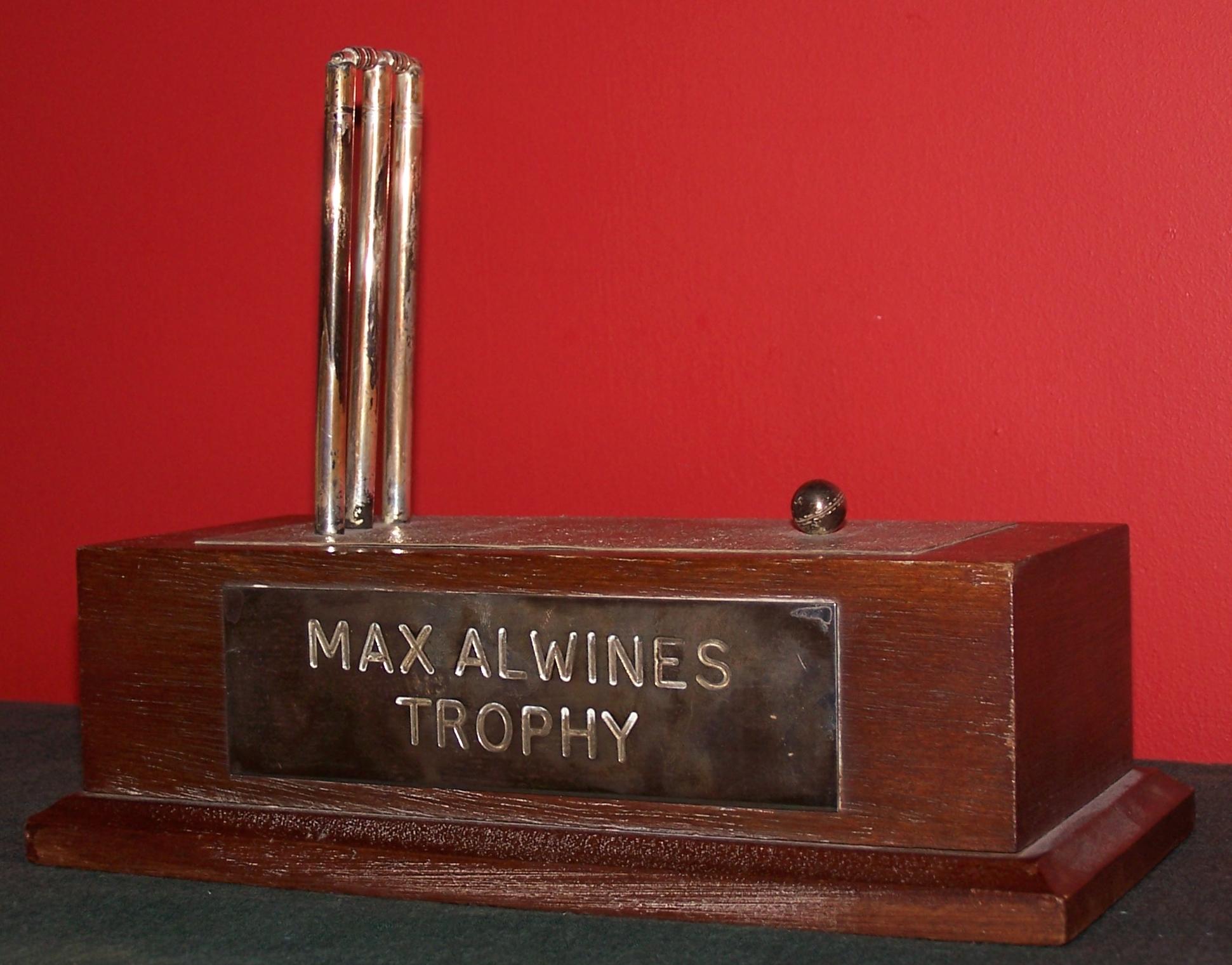 Max Alwins Trophy