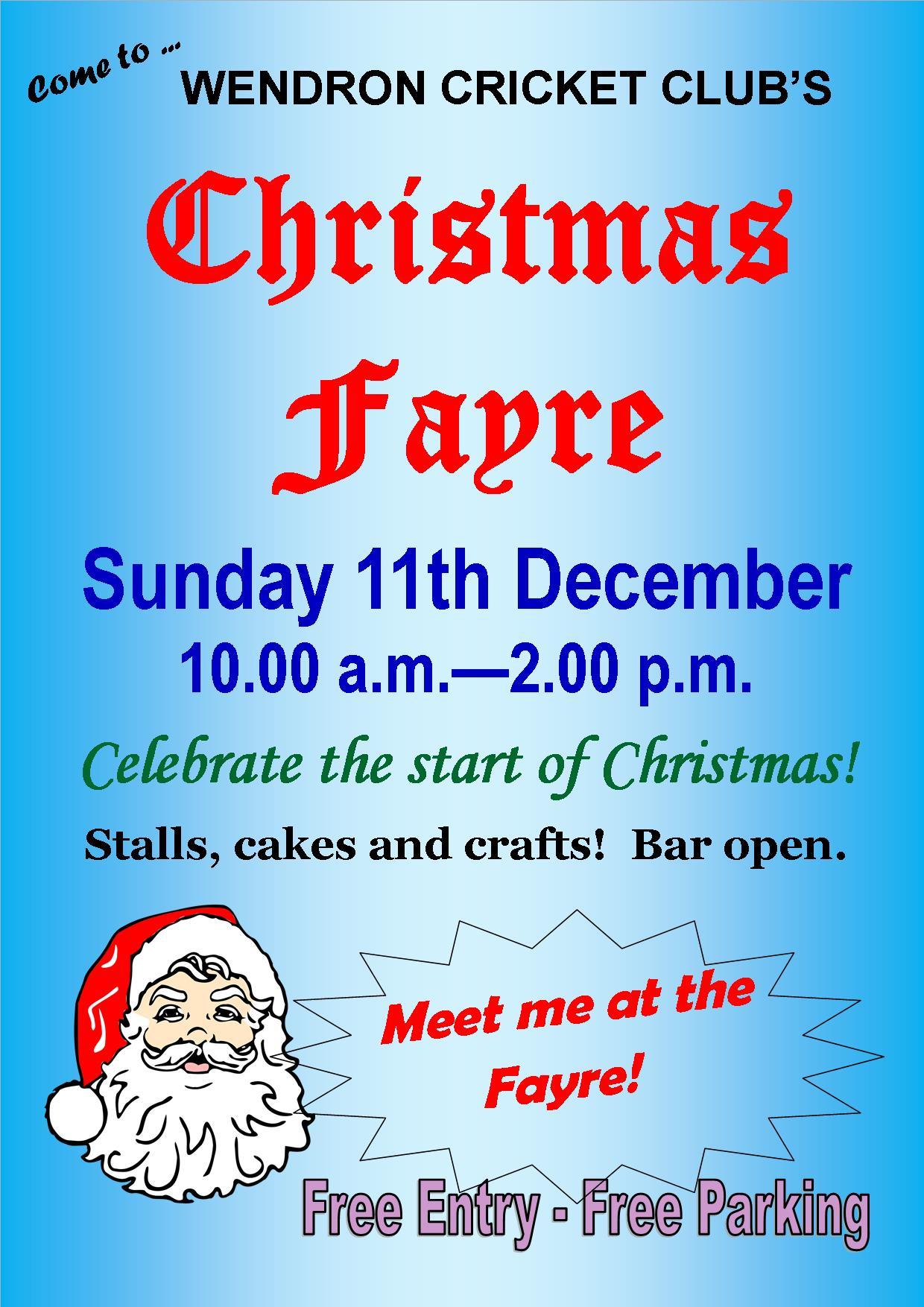 Christmas_Fayre_poster_full_colour_2016