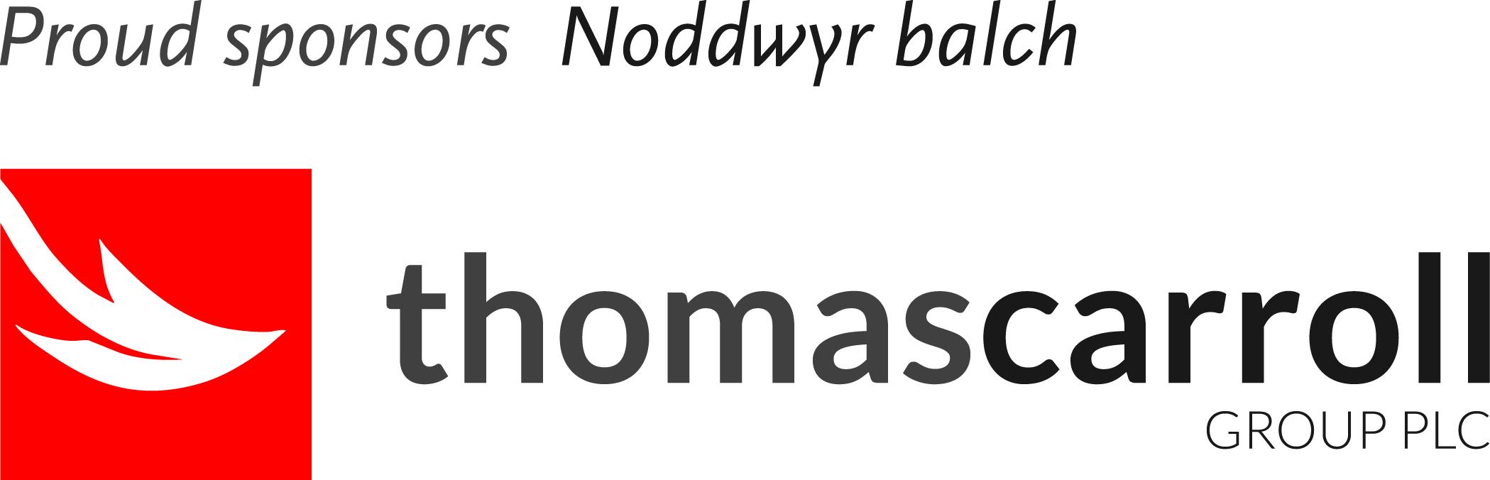Thomas carroll proud sponsors logo